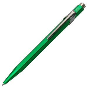 カランダッシュ ボールペン CARAN d'ACHE 限定849コレクション メタリックグリーン 0849-712 ギフト プレゼント 贈答品 記念品|zennsannnet