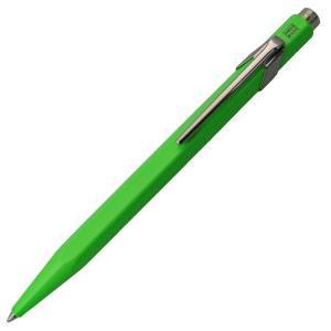 カランダッシュ ボールペン CARAN d'ACHE 限定849コレクション 蛍光グリーン 0849-730 ギフト プレゼント 贈答品 記念品|zennsannnet