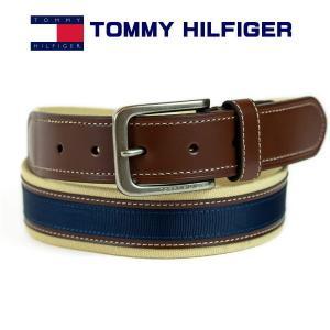 トミー・ヒルフィガー メンズベルト TOMMY HILFIGER  11TL02x044-291 サイズ調整は不可|zennsannnet