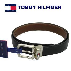 トミー・ヒルフィガー TOMMY HILFIGER ベルト リバーシブル BLACK/BROWN ギフト プレゼント 誕生日 zennsannnet