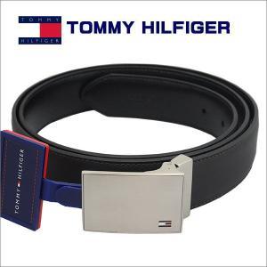 トミー・ヒルフィガー TOMMY HILFIGER ベルト リバーシブル BROWN/BLACK  ギフト プレゼント 誕生日|zennsannnet