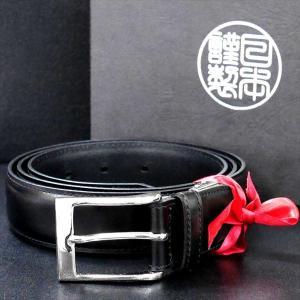 日本謹製メンズベルト 牛革 オイル仕上げ ソフトガラスアンティーク加工 ブラック 135203-10 ギフト プレゼント|zennsannnet