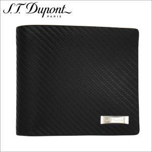 st.Dupont エス・テー・デュポン2つ折り財布 ブラック Defi SLG PORTE CARTE 8CC IDCARBONE zennsannnet