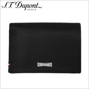 st.Dupont エス・テー・デュポン2つ折り財布 ブラック Defi SLG PORTE BILLETS 7CC CARBONE zennsannnet