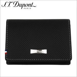 st.Dupont エス・テー・デュポンカードケース ブラック Defi SLG PORTE CARTE DE VISITE PERFOBL zennsannnet
