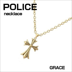 POLICE ポリス ネックレス ステンレス シルバー GRACE ユニセックスタイプ ギフトプレゼント zennsannnet