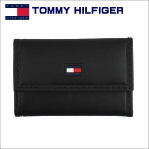 トミー・フィルフィガーTOMMY HILFIGER 6連キーケース ブラック 31TL17x012BK|zennsannnet