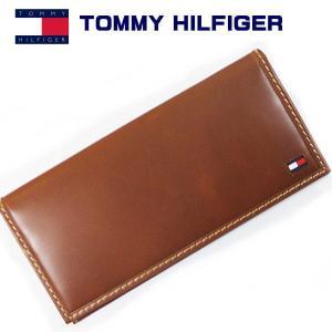 トミーフィルフィガー 長財布 ブラウン TOMMY HILFIGER Highland 31TL19x013 得トク2WEEKS0217|zennsannnet