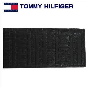 トミーフィルフィガー 長札財布 ブラック TOMMY HILFIGER Eastborne 31TL19x018BK|zennsannnet