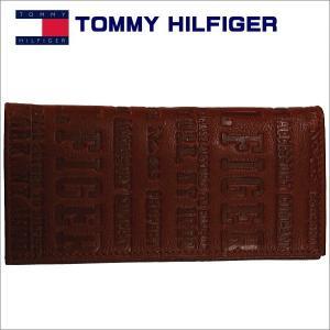 トミーフィルフィガー 長札財布 ブラウン TOMMY HILFIGER Eastborne 31TL19x018TAN|zennsannnet