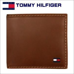 トミー・フィルフィガー 2つ折れ財布 ブラウン TOMMY HILFIGER Highland 31TL25x014|zennsannnet