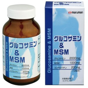 マルマン グルコサミン&MSM 360粒入りサプリメント 生活習慣対策|zennsannnet