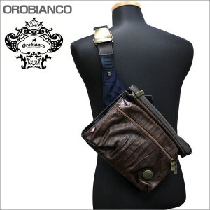 OROBIANCO オロビアンコ ショルダーバッグ ボディバック オレンジレッド系 3C DARCY-C OR165 BLU-12 ギフト プレゼント zennsannnet