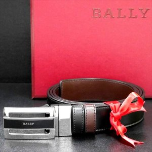 メンズベルト バリー BALLY リバーシブル BLACK CALF BRUSHED 6166788 ギフト プレゼント 父の日|zennsannnet
