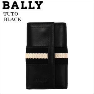 キーケース バリー BALLY ブラック BLACK TUTO 290 6168840|zennsannnet
