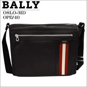 BALLY バリー ショルダーバック  BLACK ブラック OSLO-MD 6171914001|zennsannnet