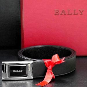 メンズベルト バリー BALLYリバーシブル BLACK CALF PLAIN 6184665 ギフト プレゼント 父の日|zennsannnet