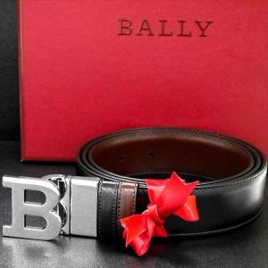 メンズベルト バリー BALLY リバーシブル BLACK CALF PLAIN 6193208 ギフト プレゼント 父の日|zennsannnet
