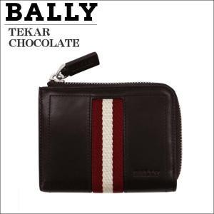 BALLY バリー ファスナー小銭入れ ブラウン CHOCOLATE TAKAR 271 6206800|zennsannnet