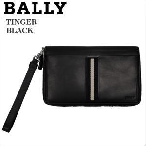 バリー ラウンドジップ財布 大収納 トラベルウォレット ブラック BLACK TINGER 6208238|zennsannnet