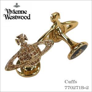 ヴィヴィアン・ウエストウッド Vivienne Westwood カフス ゴールド 770271B-2 ギフト プレゼント|zennsannnet