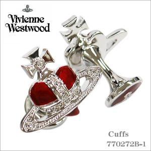 ヴィヴィアン・ウエストウッド Vivienne Westwood カフス レッドシルバー 770272B-1 ギフト プレゼント|zennsannnet