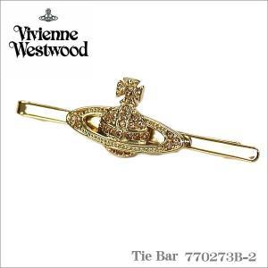 ヴィヴィアンウエストウッド Vivienne Westwood タイバー ネクタイピン ゴールド 770273B-2 ギフト プレゼント|zennsannnet