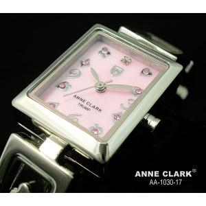 ANNE CLARK アンクラーク レディス腕時計 スクエアータイプ 天然シェルダイヤル AA1030-17 ギフト プレゼント|zennsannnet