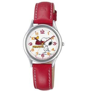 スヌーピー 時計 snoopy キッズ腕時計 レッド AA95-9852 ギフト プレゼント 誕生日|zennsannnet