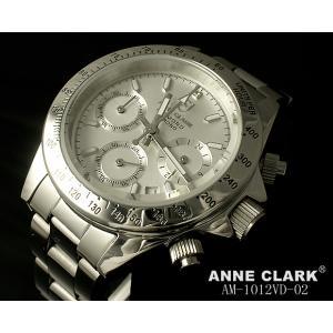 レディス腕時計 アンクラーク センタークロノグラフ  天然ダイヤ AM-1012VD-02 ギフト プレゼント zennsannnet