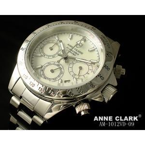 レディス腕時計 アンクラーク センタークロノグラフ 天然ダイヤ AM-1012VD-09 ギフト プレゼント zennsannnet