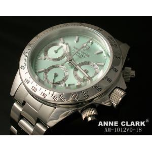 レディス腕時計 アンクラーク センタークロノグラフ 天然ダイヤ AM-1012VD-18 ギフト プレゼント zennsannnet