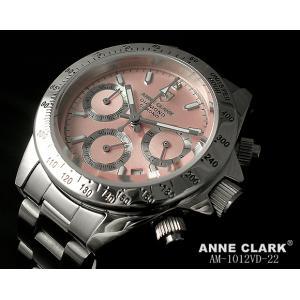 レディス腕時計 アンクラーク センタークロノグラフ 天然ダイヤ AM-1012VD-22 ギフト プレゼント|zennsannnet