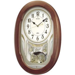 カラクリ時計 SEIKO セイコー 電波クロック 掛け時計 AM234H ギフト 贈答品 新築祝い zennsannnet