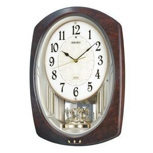 カラクリ時計 SEIKO セイコー 電波クロック 掛け時計 AM239H ギフト 贈答品 新築祝い zennsannnet