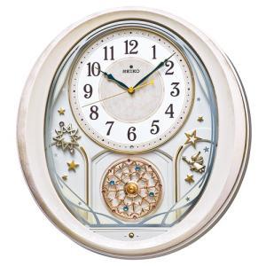 カラクリ時計 SEIKO セイコー 電波クロック 掛け時計  AM251P ギフト 贈答品 新築祝い zennsannnet