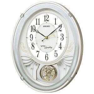SEIKO セイコー 電波クロック 掛け時計 カラクリ時計 AM258W ギフト 贈答品 新築祝い zennsannnet