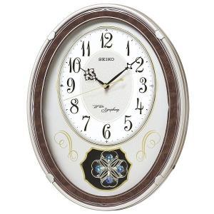 SEIKO セイコー 電波クロック 掛け時計 カラクリ時計 AM259B ギフト 贈答品 新築祝い zennsannnet