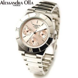 アレサンドラ・オーラ レディス腕時計 マルチファンクション 10気圧防水 シャンパン AO-900-8|zennsannnet