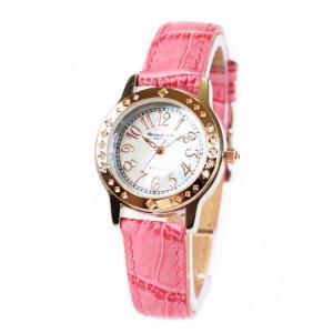 アレサンドラ・オーラ レディス腕時計 alessandra olla  白蝶貝文字盤 AO1750RPK ローズピンクベルト zennsannnet
