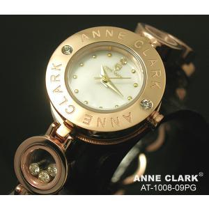 ANNECLARK アンクラーク レディス腕時計 ブレスレットタイプ シェルダイヤル 天然ダイヤ カラーストーン AT1008-09PG ギフト プレゼント zennsannnet