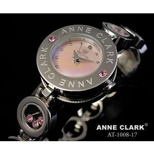 ANNE CLARK アンクラーク レディス腕時計 ブレスレットタイプ シェルダイヤル 天然ダイヤ カラーストーン AT1008-17 ギフト プレゼント zennsannnet