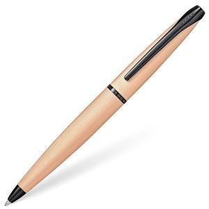 クロス ボールペン ATX ブラッシュトフィニッシュ ローズゴールド 882-42 ギフト プレゼント 贈答品|zennsannnet
