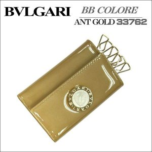 BVLGARI キーケース6連タイプ ブルガリ  BVLGARI 3376 ゴールド(パテント) ギフト プレゼント zennsannnet
