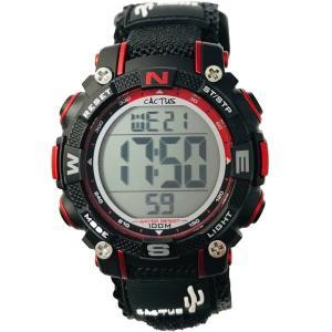 カクタス キッズ腕時計 デジタル CACTUS kids 子供用時計 ブラック CAC104-M01 ギフト プレゼント 記念品 誕生日|zennsannnet