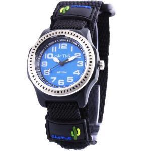 カクタス キッズ腕時計 CACTUS 子供用時計 ダイバー CAC45-M03 ブルーフェイス ギフ...