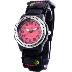 カクタス キッズ腕時計 CACTUS 子供用時計 ダイバー CAC45-M07 レッドフェイス ギフト プレゼント 記念品 誕生日 zennsannnet