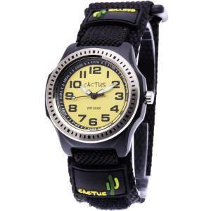カクタス キッズ腕時計 CACTUS 子供用時計ダイバー CAC45-M10 イエローフェイス ギフト プレゼント 記念品 誕生日 zennsannnet
