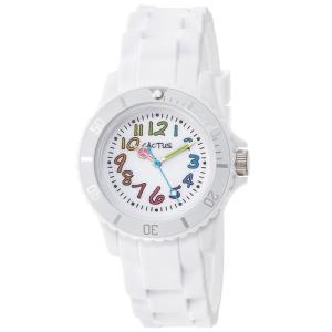 カクタス キッズ腕時計 CACTUS kids 子供用時計 カラフルインデックス ホワイト CAC62-M11 ギフト プレゼント 記念品 誕生日 zennsannnet