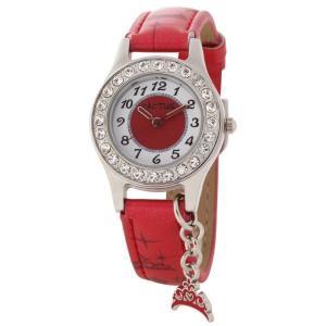 カクタス キッズ腕時計 CACTUS 子供用時計 ドルフィンチャーム レッド CAC71-L07  ギフト プレゼント 記念品 誕生日 zennsannnet